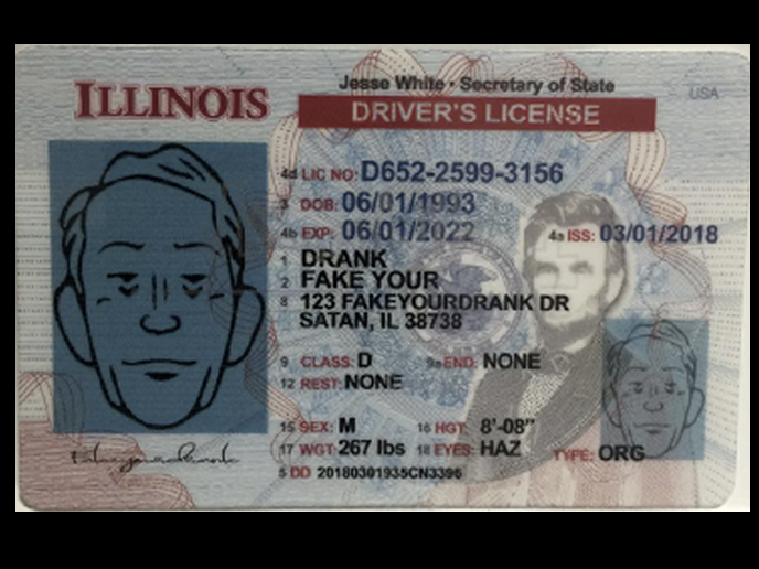 Illinois New Version 100 1 Person For 2 Ids 70 Or More Persons Each 4 50 8